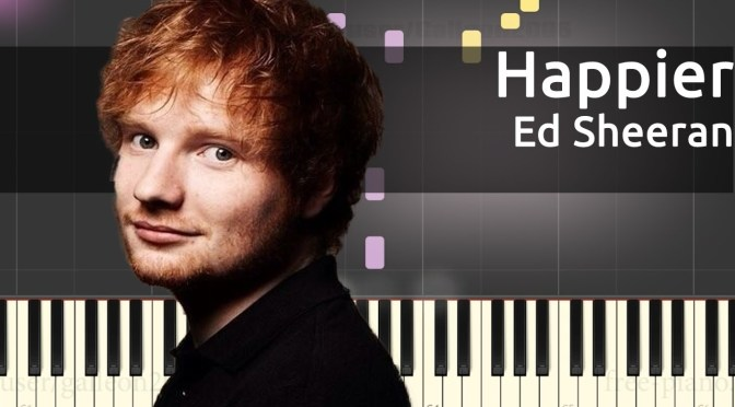 Ed Sheeran – Happier – Piano Tutorial – Chords