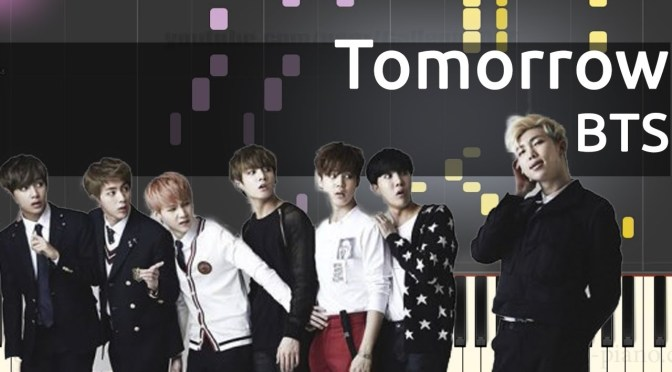 BTS(방탄소년단) – Tomorrow – Piano Tutorial
