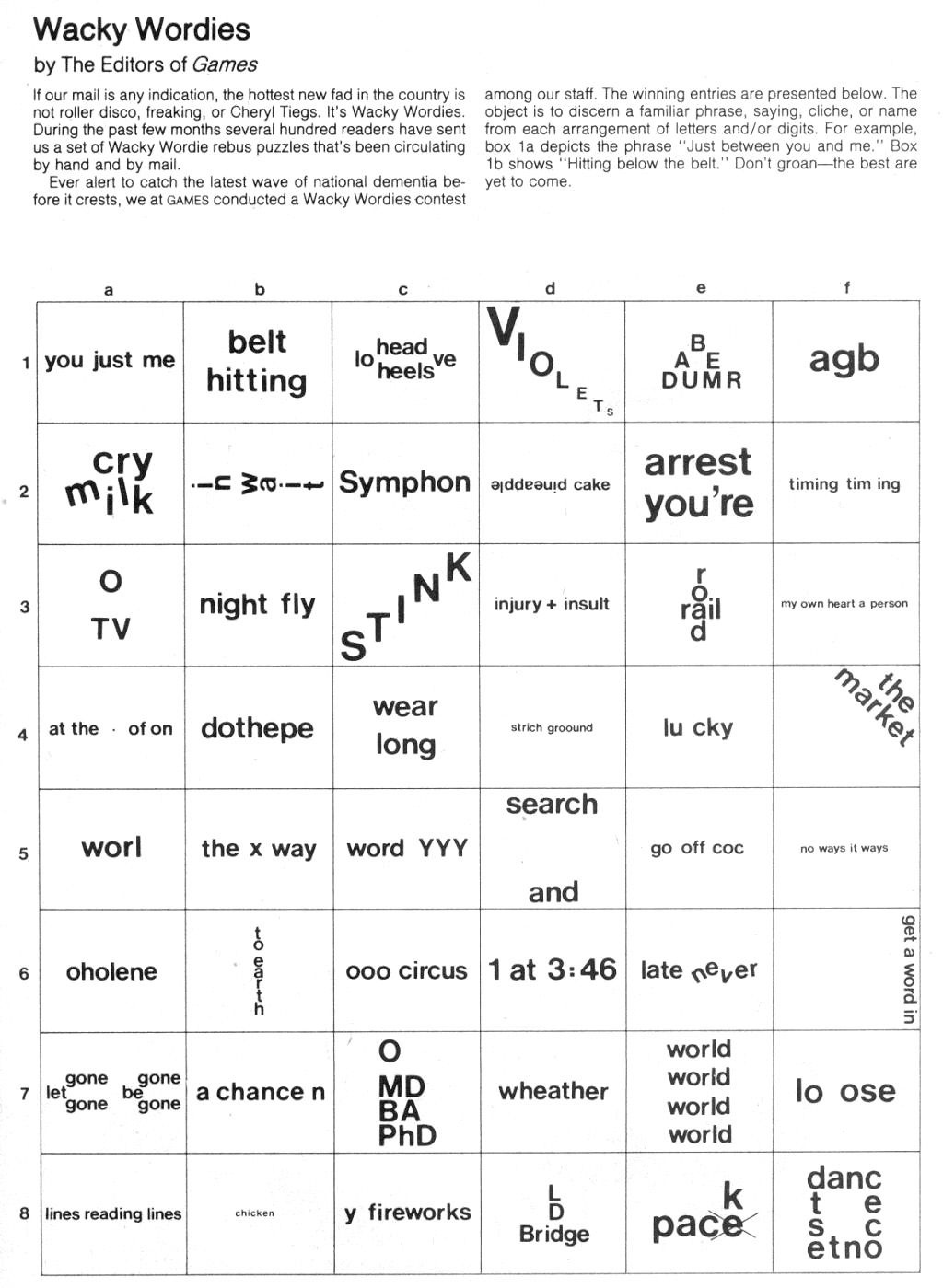 Hidden Meanings Brain Teasers Worksheets Printable Worksheets And Activities For Teachers Parents Tutors And Homeschool Families