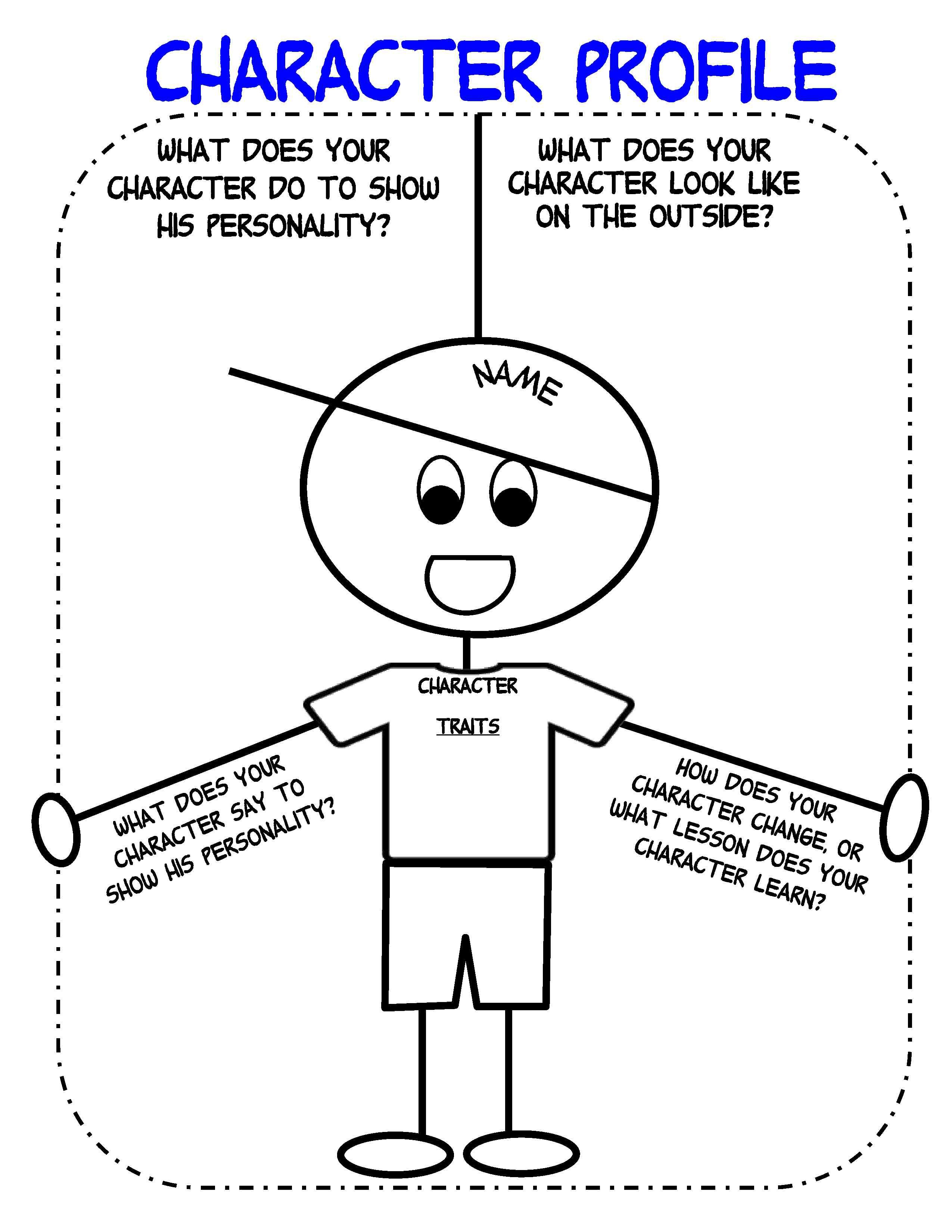 Free Printable Character Map