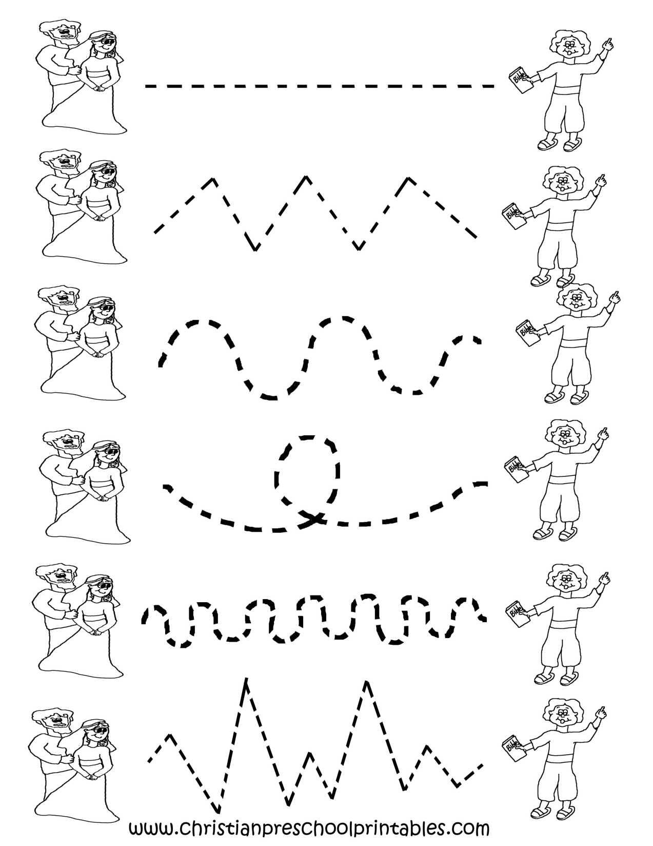 Image Detail For Preschool Tracing Worksheets