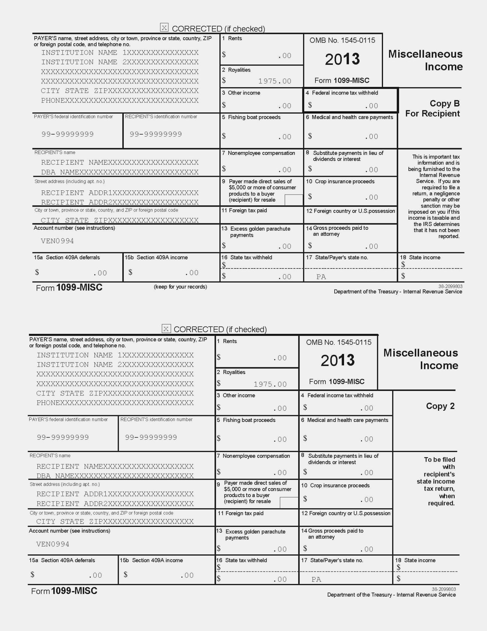Free Form Printable