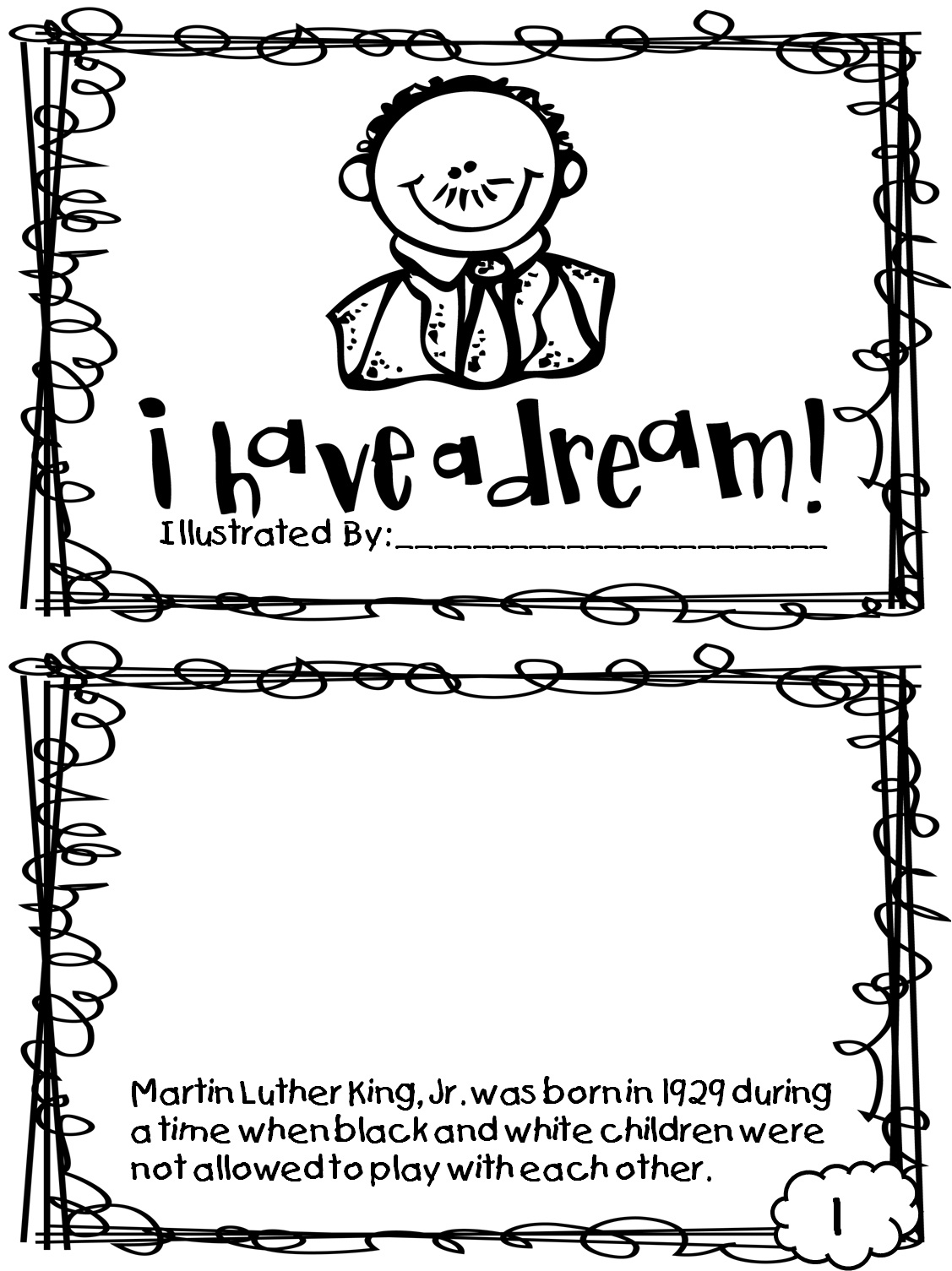 Free Printable Martin Luther King Jr Worksheets