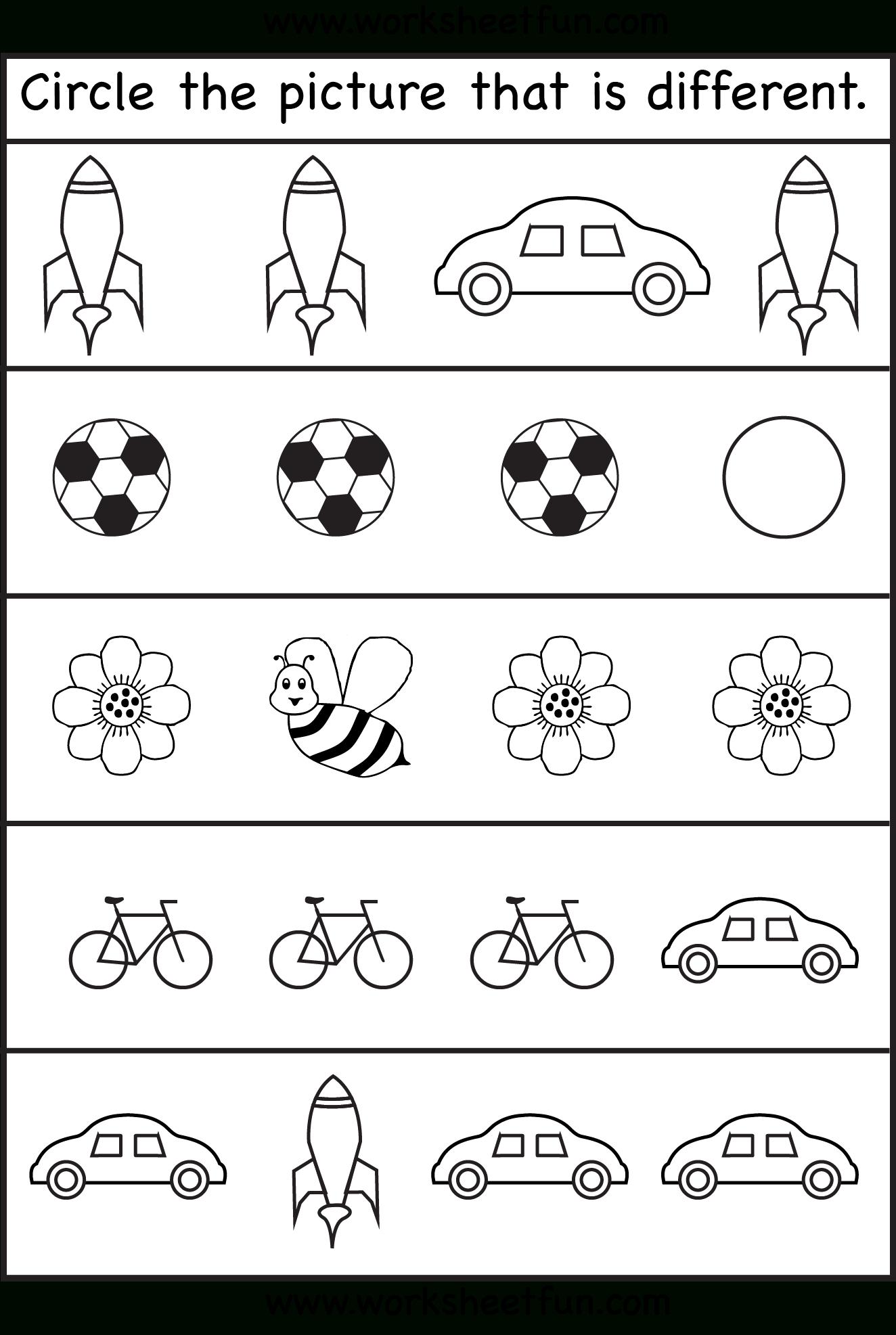 Size Worksheets