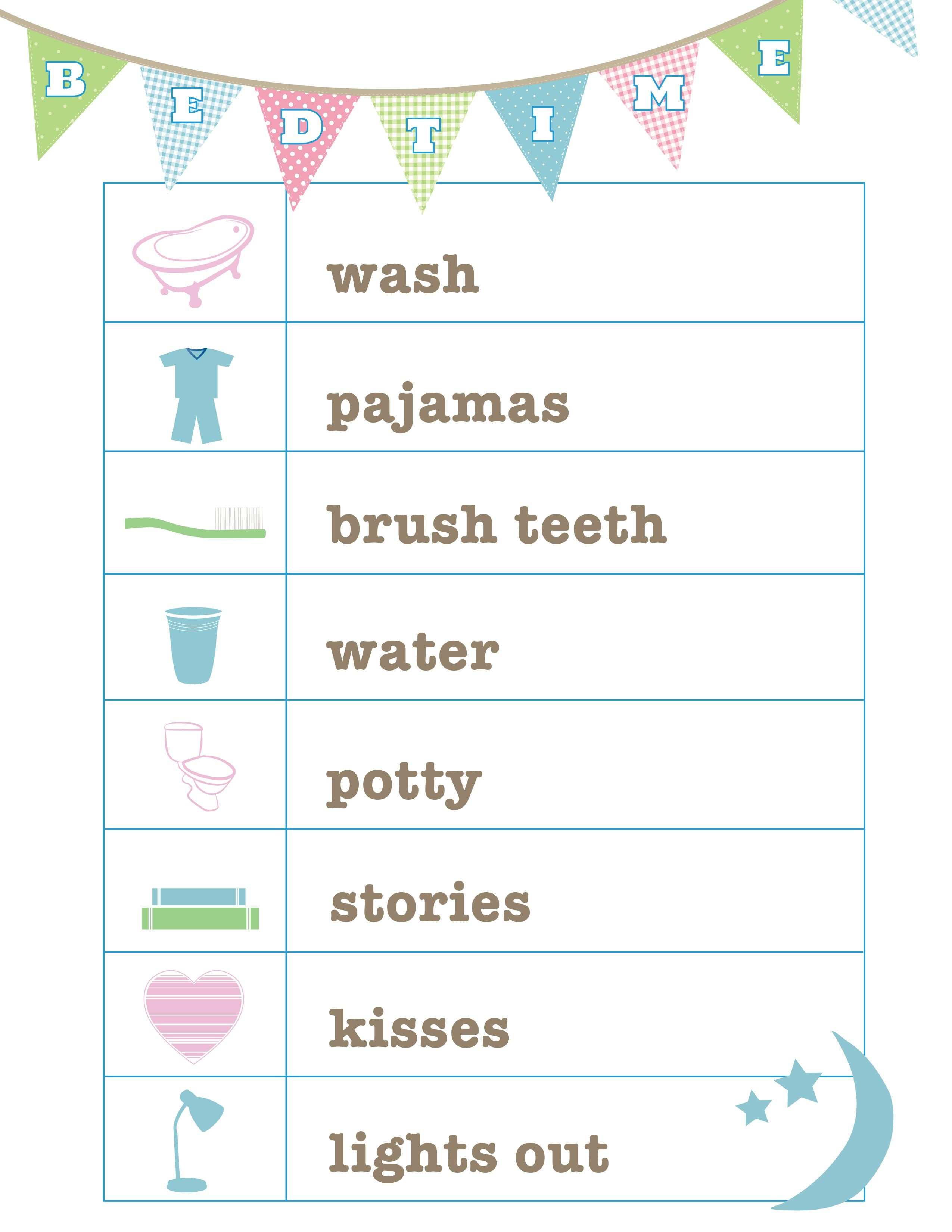 Free Routine Printables And More