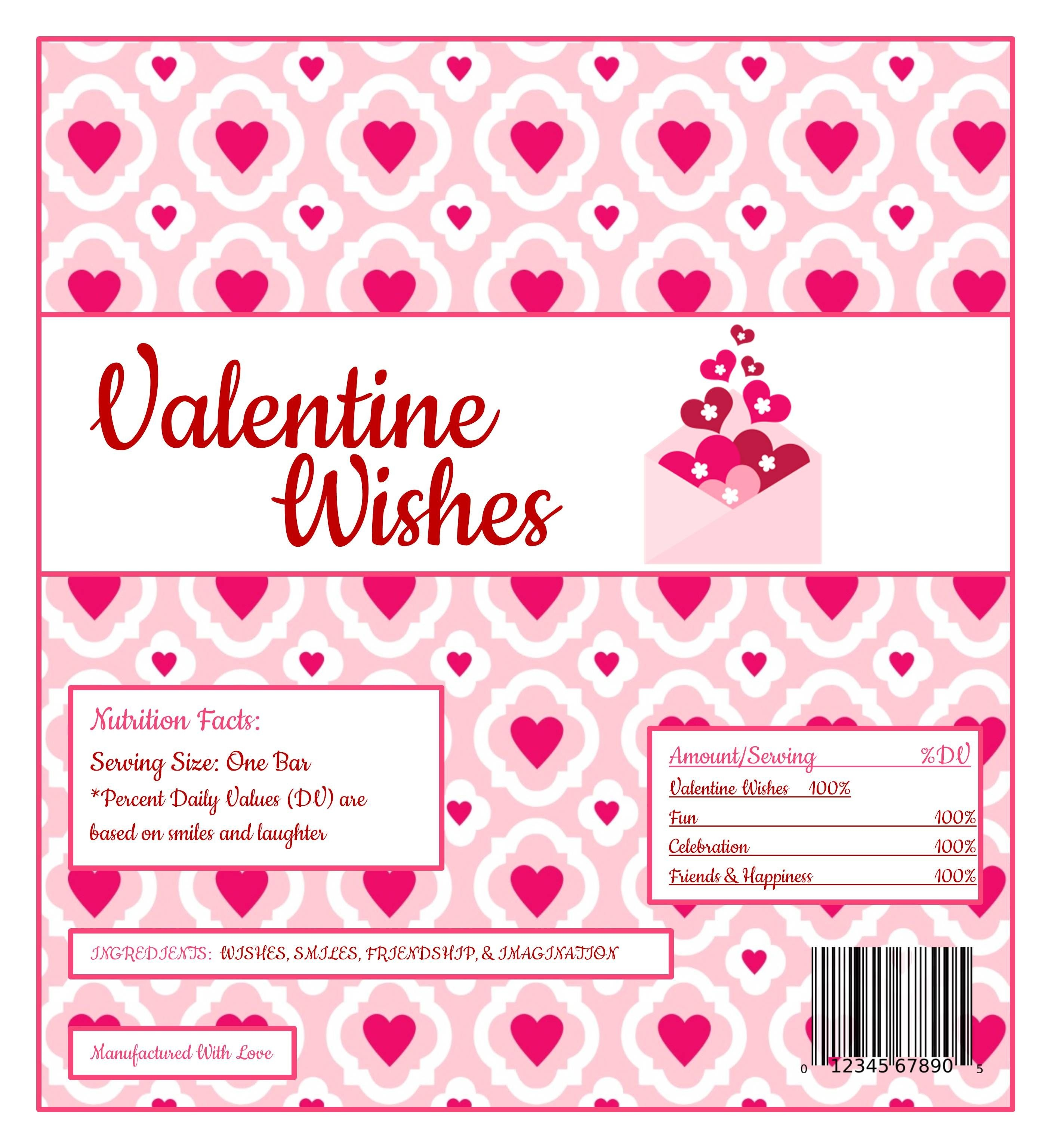Free Printable Hershey Bar Wrappers