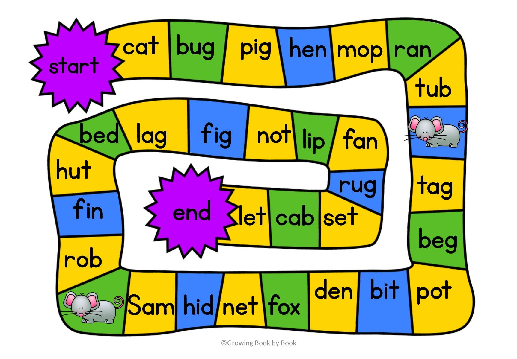 Climb The Ladder A Printable Spelling Game For Any Word
