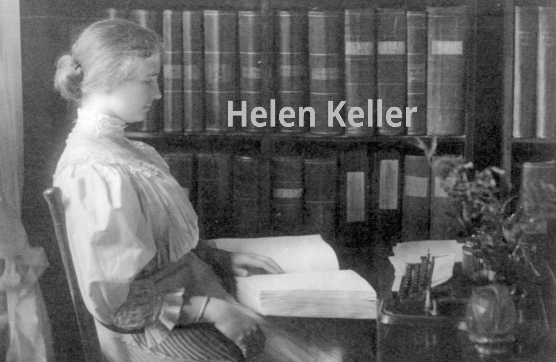 Helen Keller Coloring Page