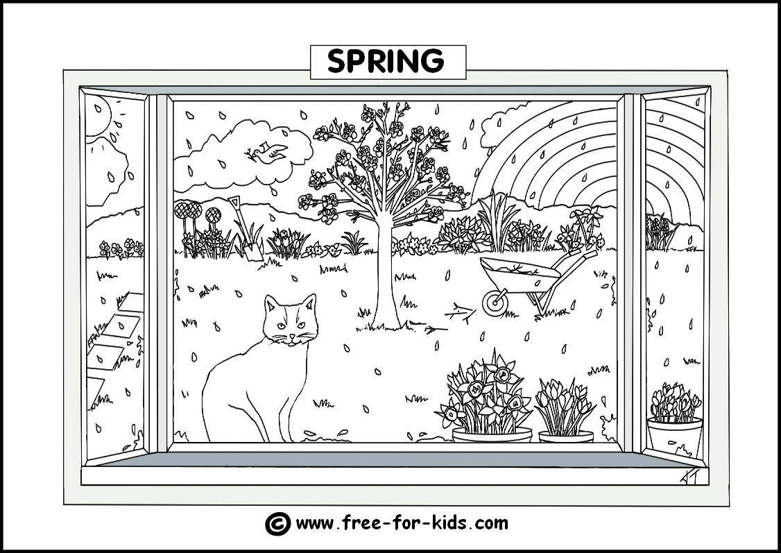 Free Printable Pictures Of The Four Seasons