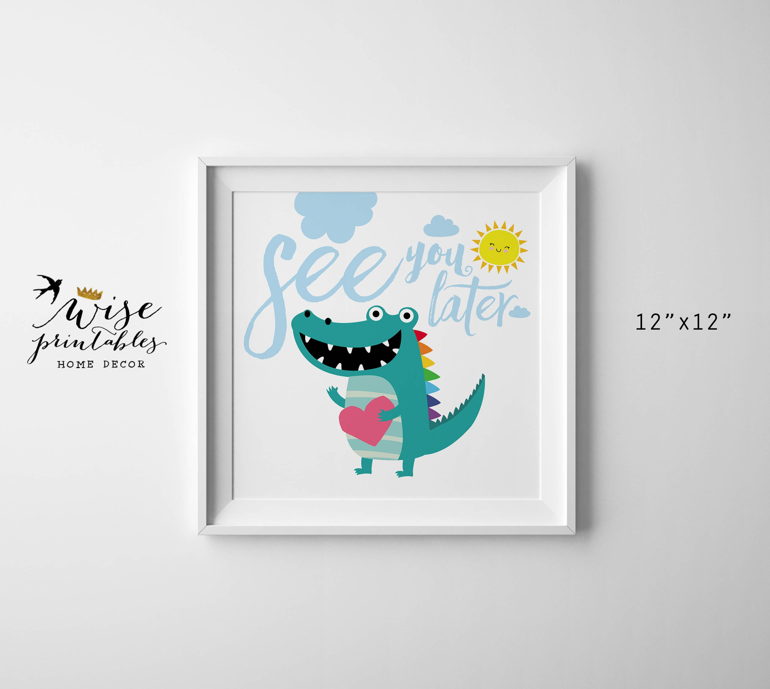 See You Later Alligator Free Printable