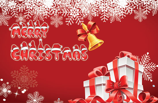 45CHRISTMAS PREMIUM Amp FREE PSD HOLIDAY CARD TEMPLATES FOR