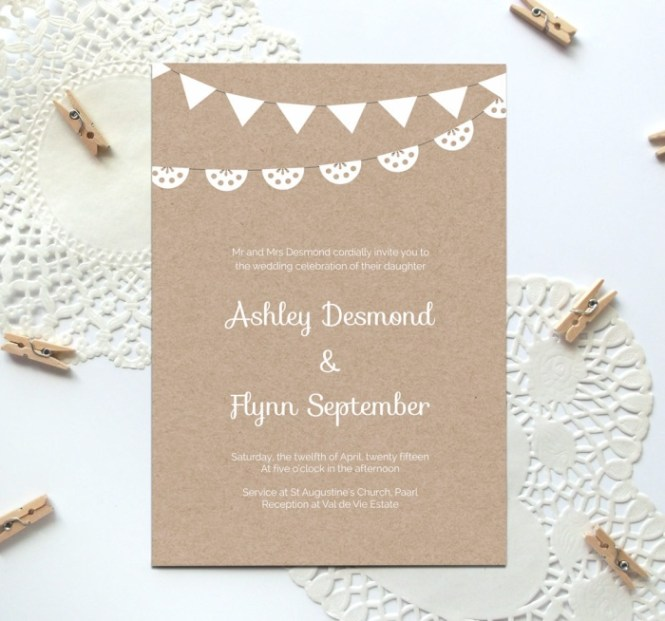 Vintage Wedding Invite Template Top Ten Of Free Style