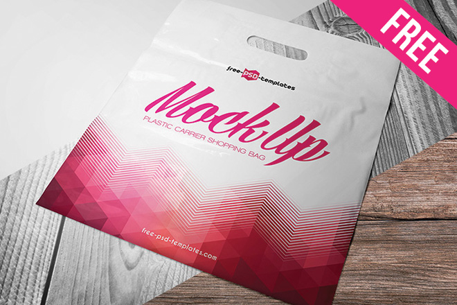 Showcase your designs in these free blank mockups that are easy to edit and use. Free Plastic Carrier Shopping Bag Mock Up In Psd Free Psd Templates