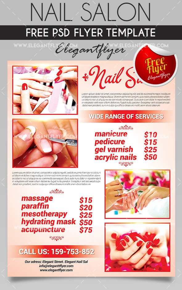 care psd business flyer templates