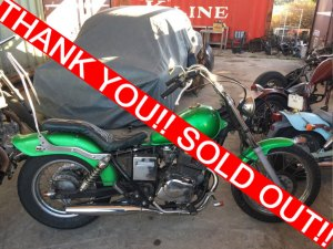 SOLDOUT!HONDA REBEL(250) 14万円!