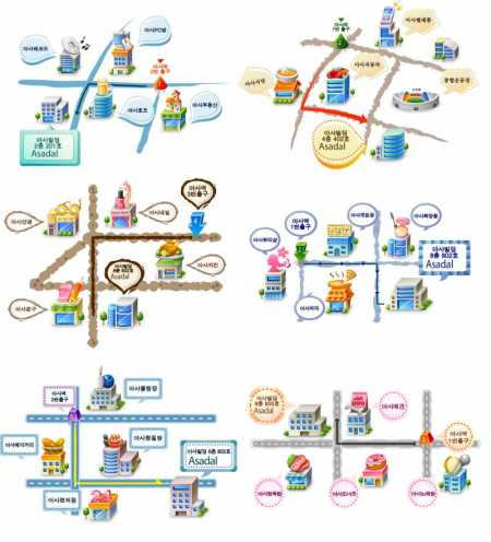 Beautiful-and-practical-vector-map-450x496