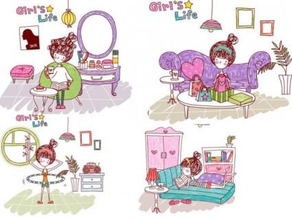 Girl-life-vector-eps-girl-life8