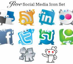 Jive Social Media Icon Set
