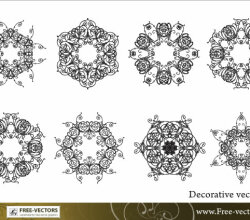 Free Decorative Ornaments Vector