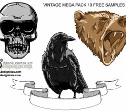 Vintage Mega Pack Free Samples