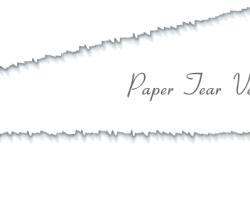 Vector Paper Tear