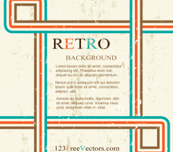 Retro Background Design Graphics