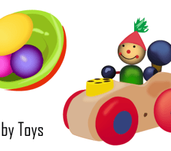 Vector Baby Toys
