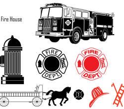 Fire Department Vector Images