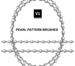 Pearl Pattern Illustrator Brushes