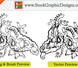 Sketchy Decorative Elements Free Vector Graphics