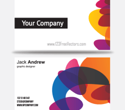 Free Colorful Business Card Templates