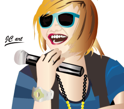 Girl Vector – Charice Pempengco