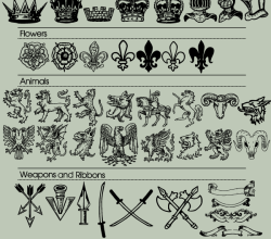 70 Heraldic Vector Images Free Download
