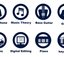 Vector Music Icons Set
