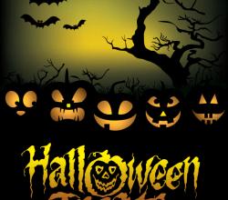 Halloween Treats Poster Vector Graphics Free Download