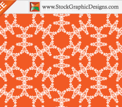 Decorative Seamless Pattern Free Vector Background