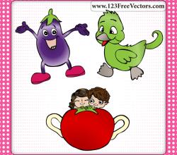 Free Cartoon Vectors