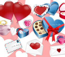 Vector Valentine's Day Clip Art