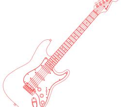 Vector Fender Stratocaster