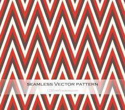 Vintage Chevron Pattern Background