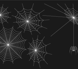 Free Spider Web Vector Art