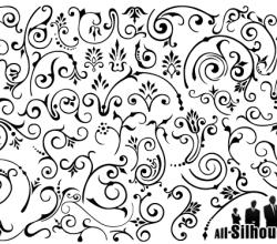 Free Elegant Floral Vector Graphics