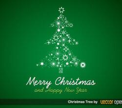 Christmas Tree Vector Free
