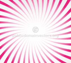 Pink Radial Stripes Graphics Background
