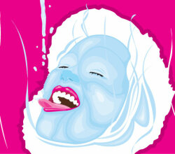 Liquid Face Vector