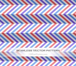 Colorful Zig Zag Pattern Background
