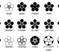 Vector Japanese Family Crest kamo
