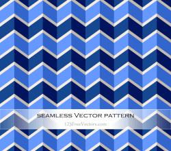 Zigzag Chevron Pattern Background Vector