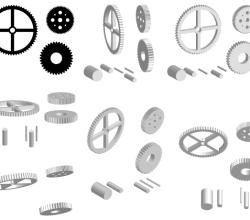 Vector Pack Cogwheel
