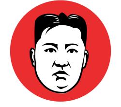Kim Jong-un Vector Image